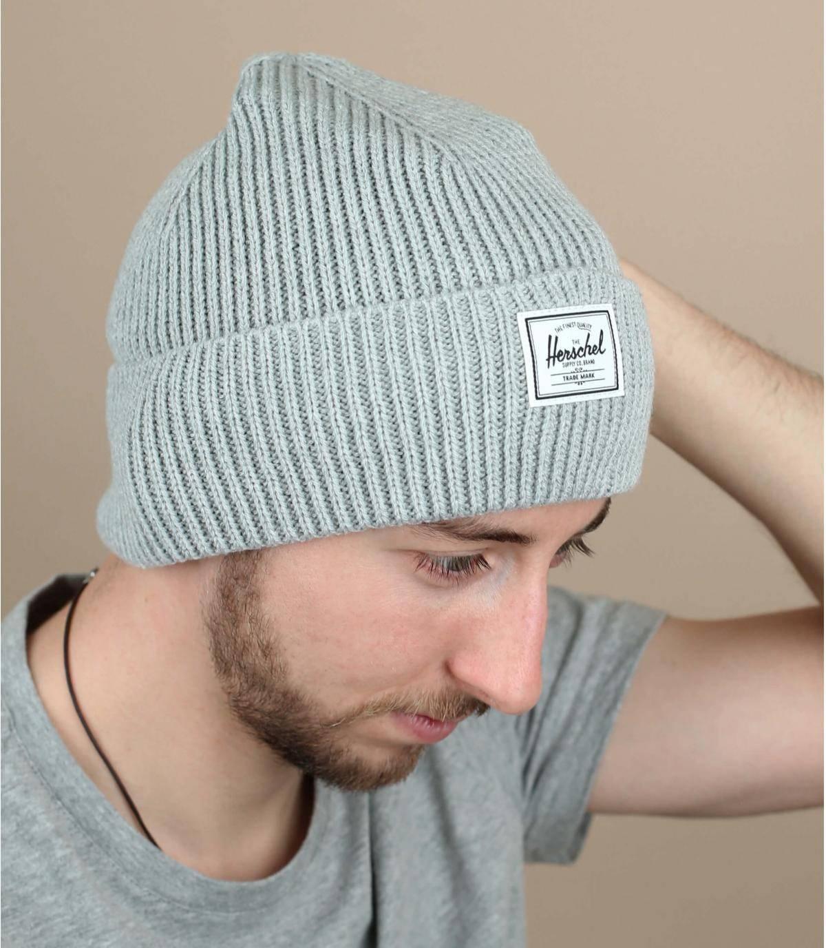 bonnet docker gris
