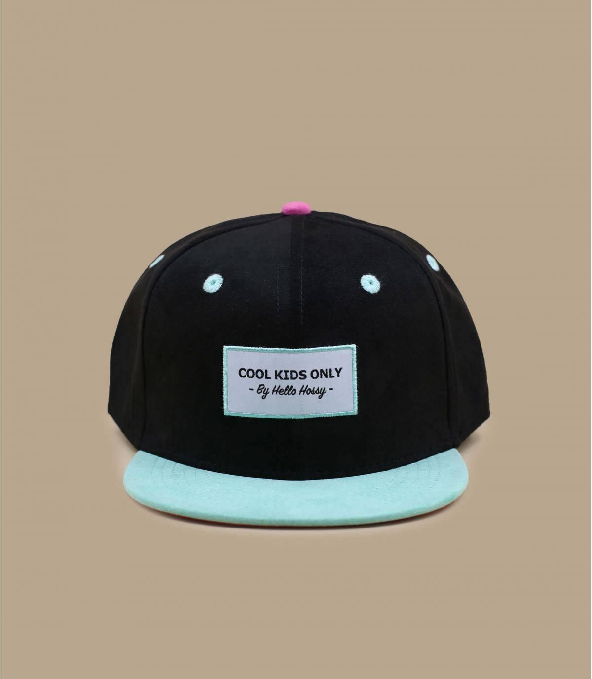 casquette enfant noir