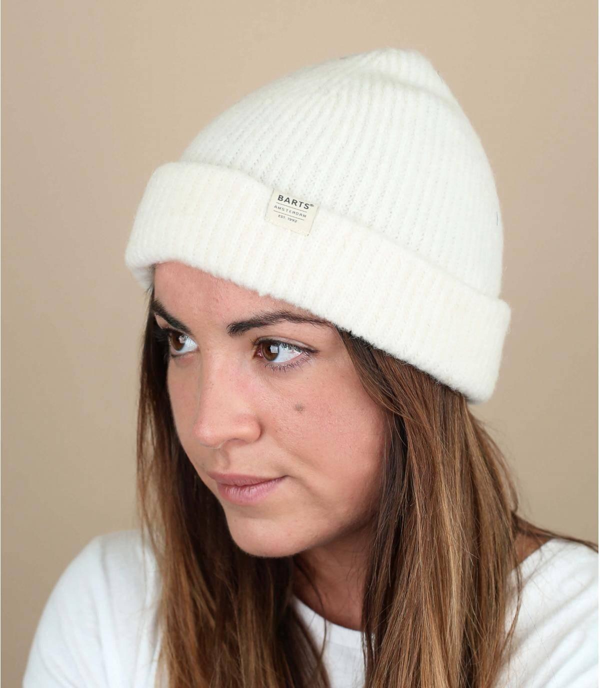 bonnet docker blanc