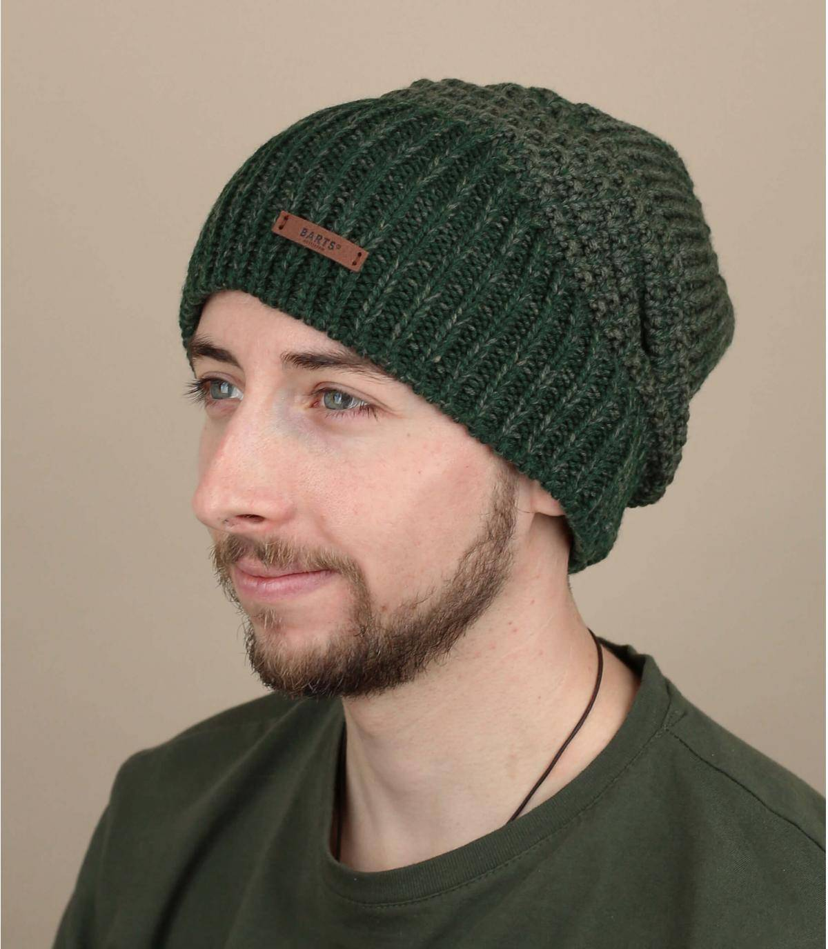 bonnet long vert
