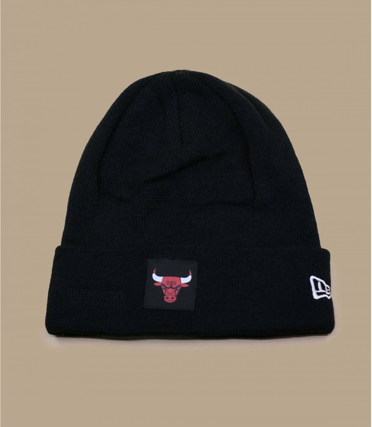 bonnet Bulls noir