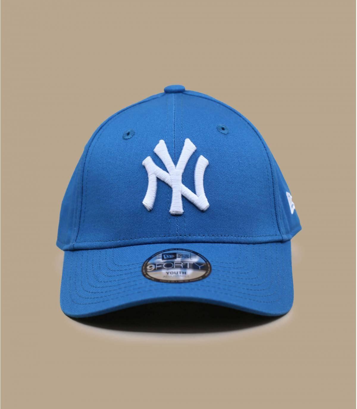 casquette NY bleu enfant