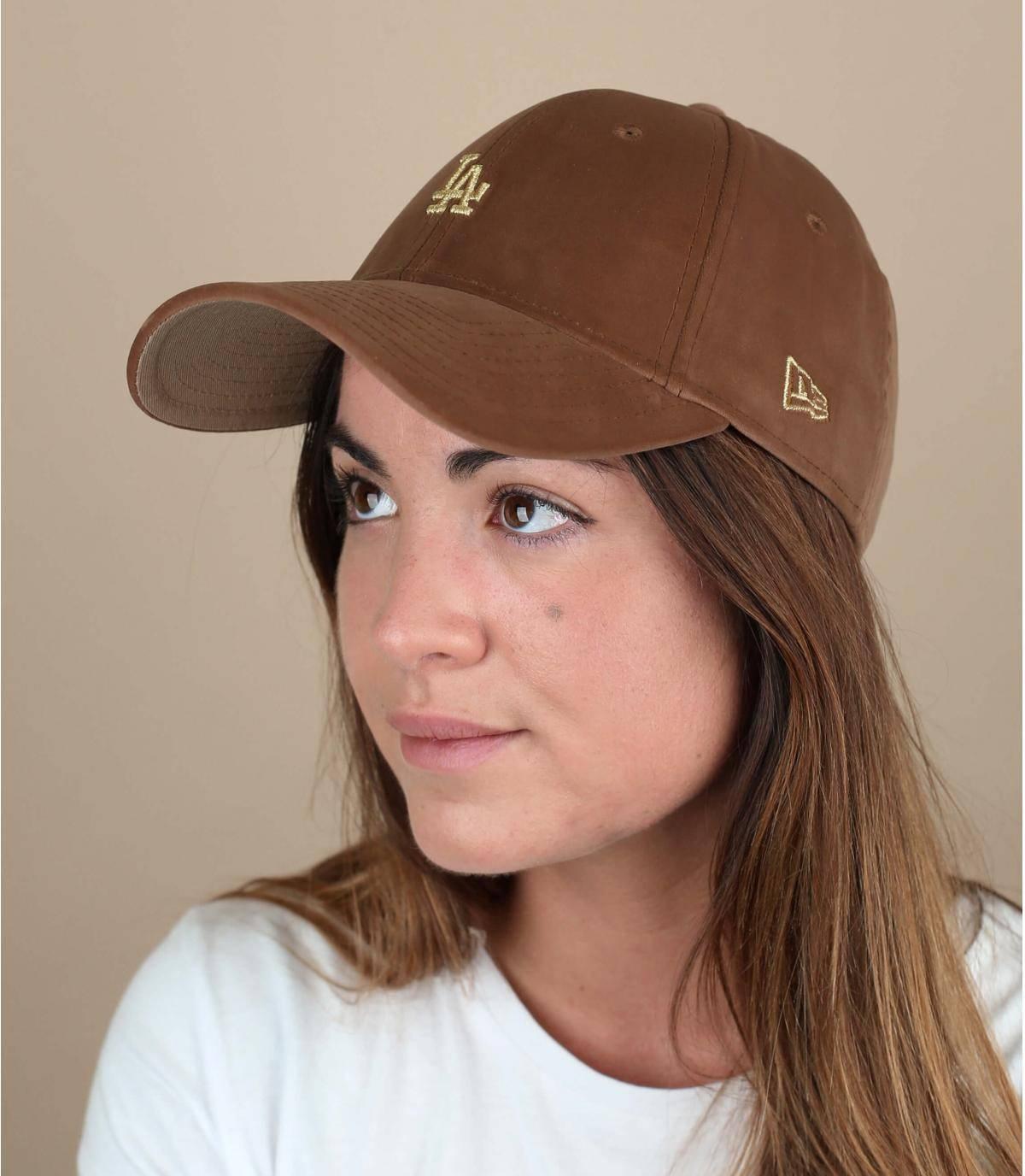 casquette velours LA