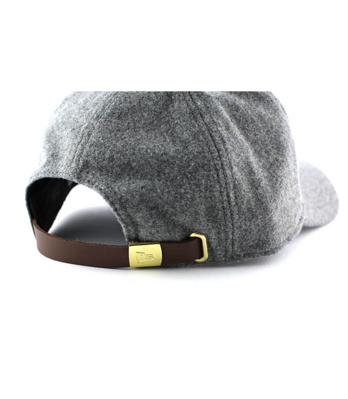 Détails Casquette NY Wool felt adjustable gray - image 4