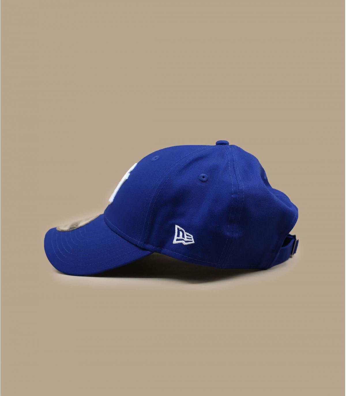 Détails Casquette NY 9forty league basic royal blue - image 3
