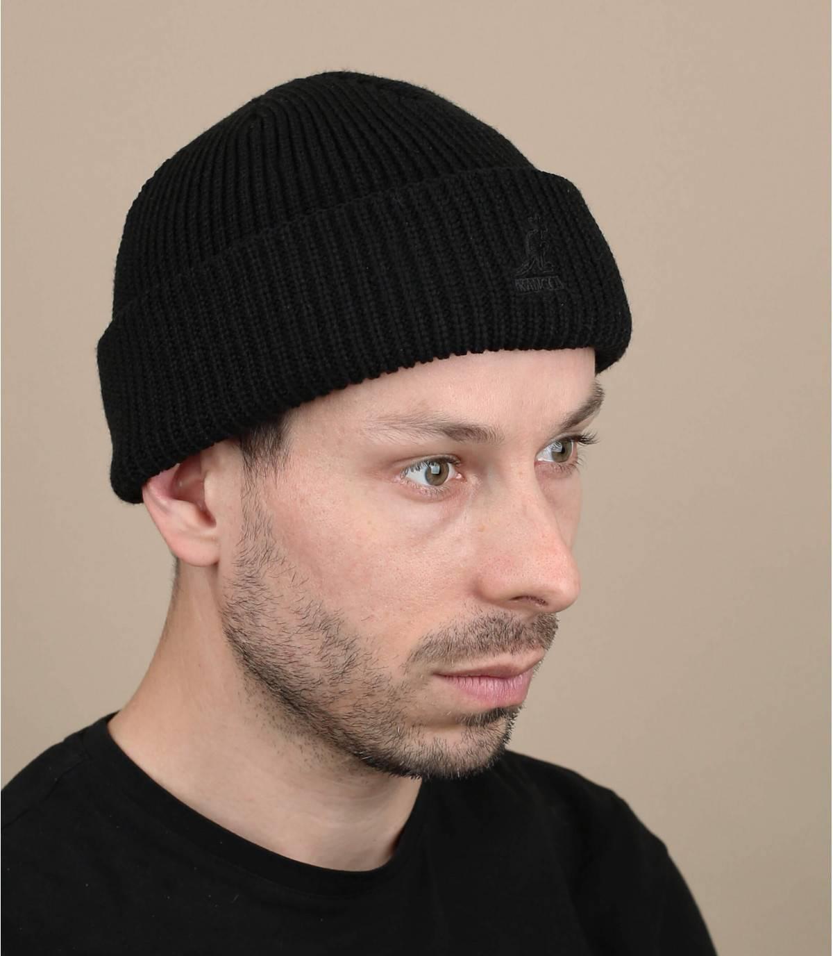 bonnet noir Kangol