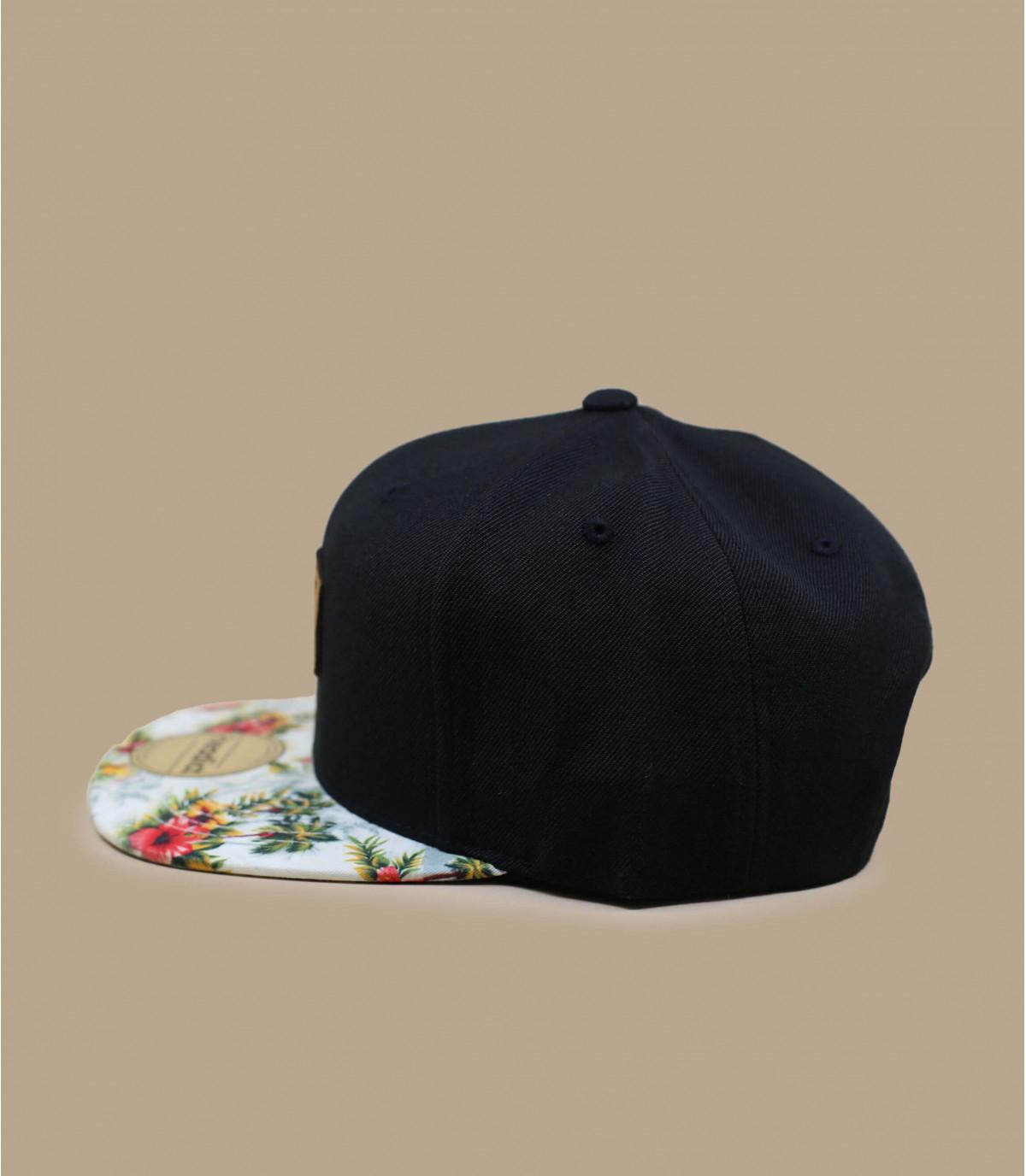Détails Snapback Let's Drive black floral - image 3