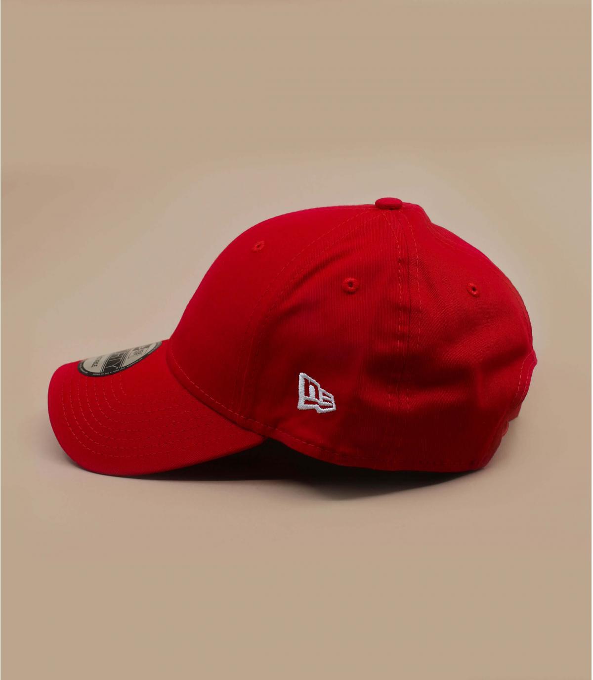 Détails Casquette basic rouge - image 5