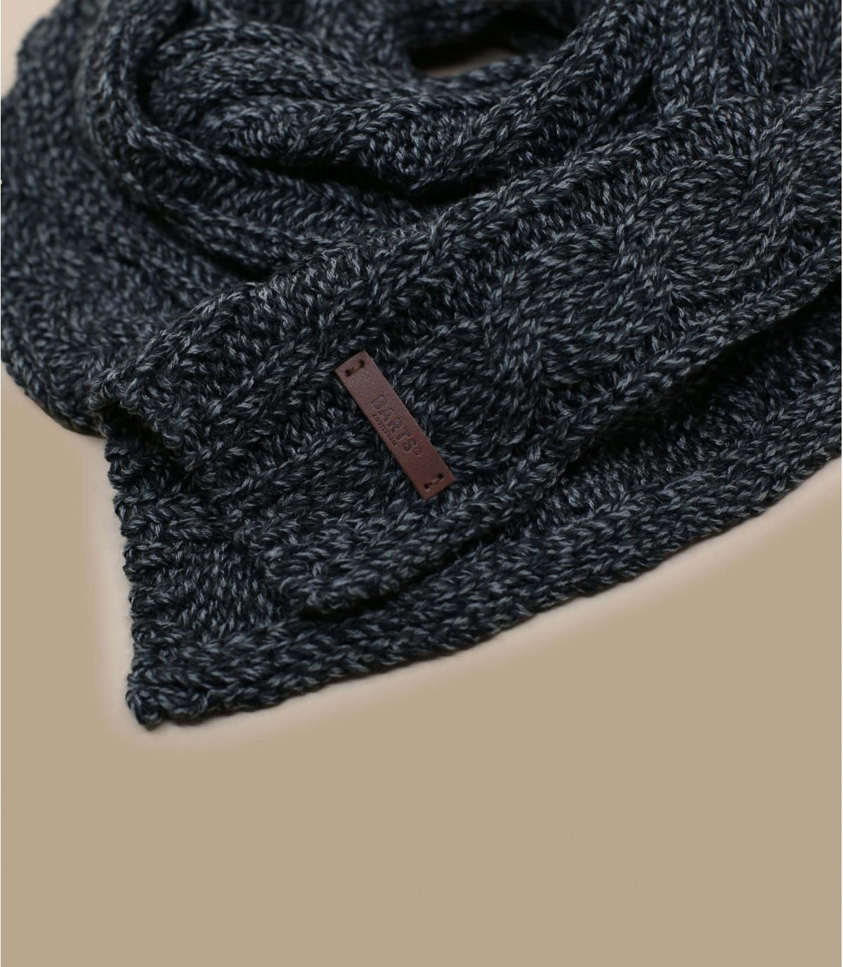écharpe torsades noire - Twister Scarf black par Barts. Headict 5bb92336e75