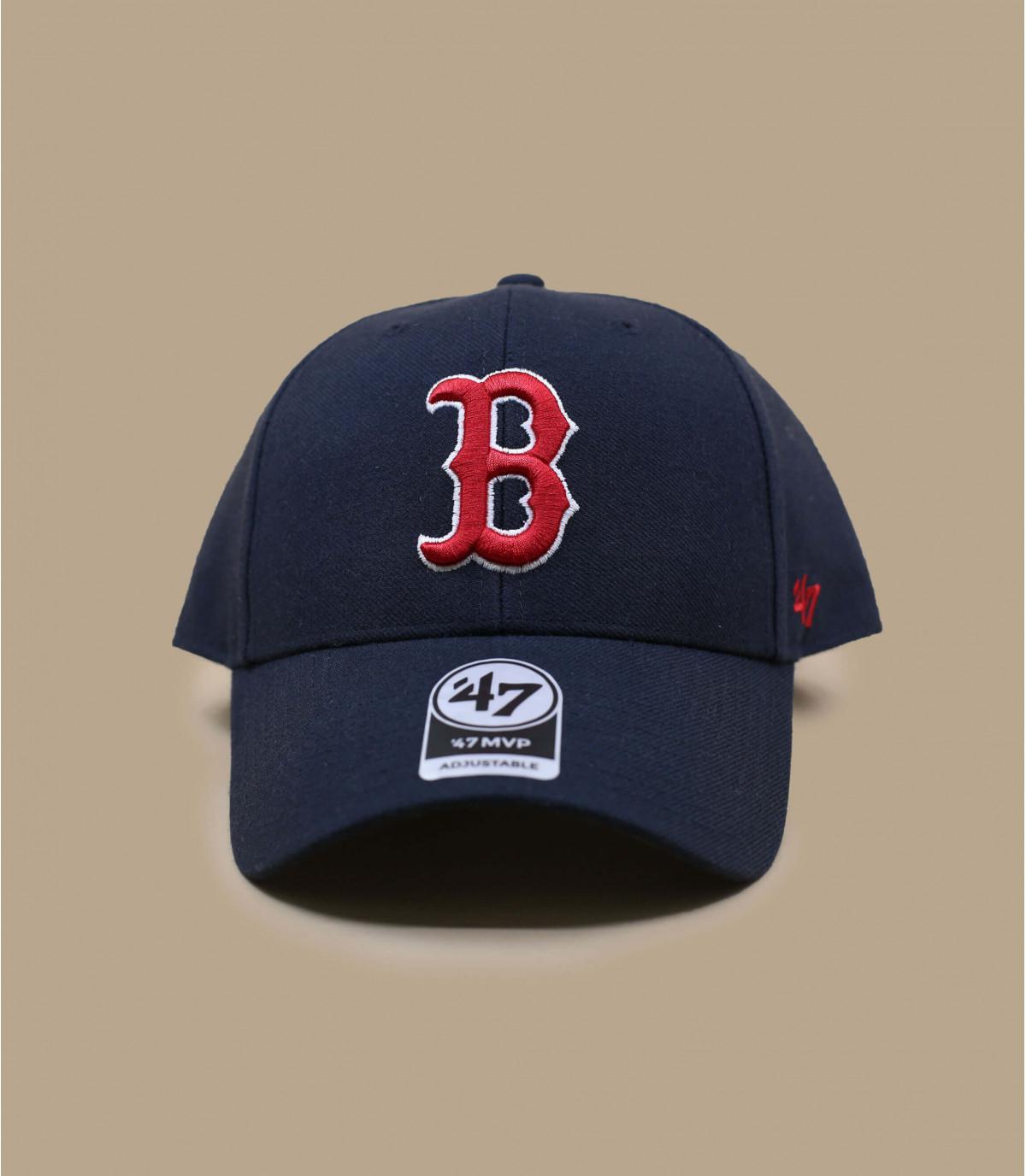 casquette B Red Sox marine