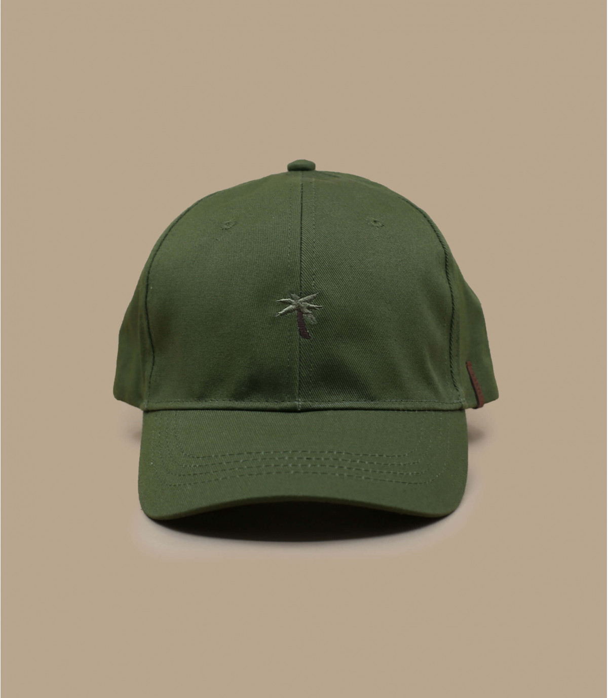 casquette palmier vert