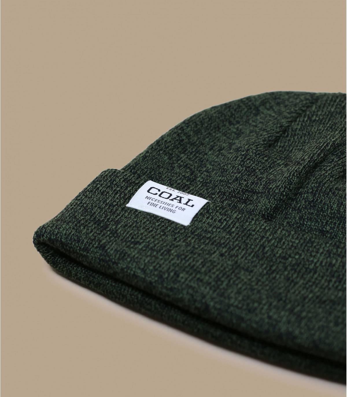 bonnet péruvien noir Coal