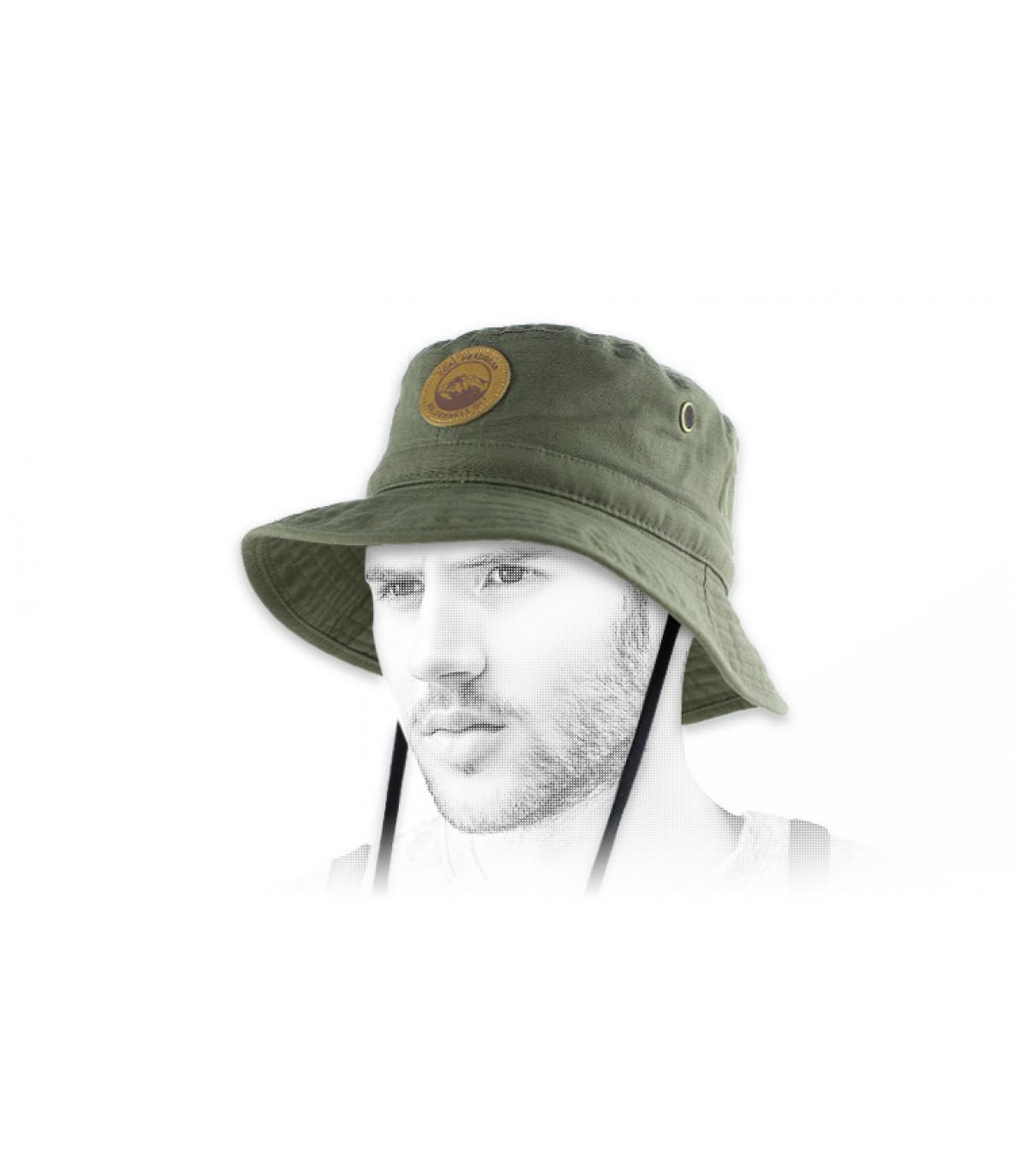Chapeau bob vert Coal