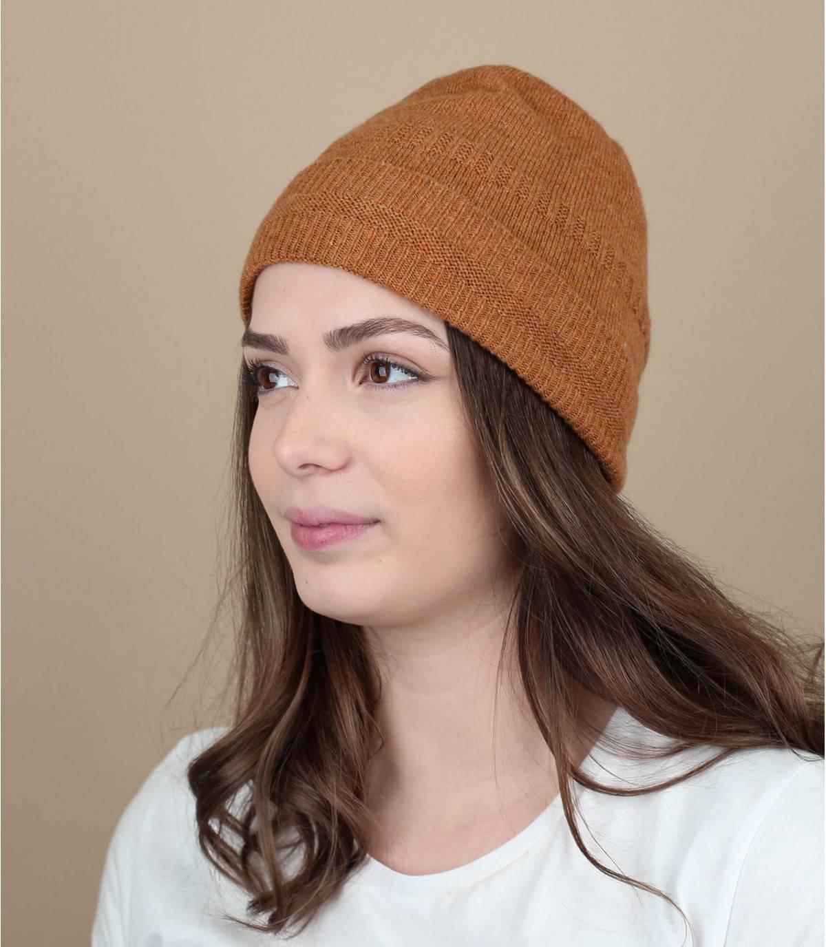 bonnet revers orange
