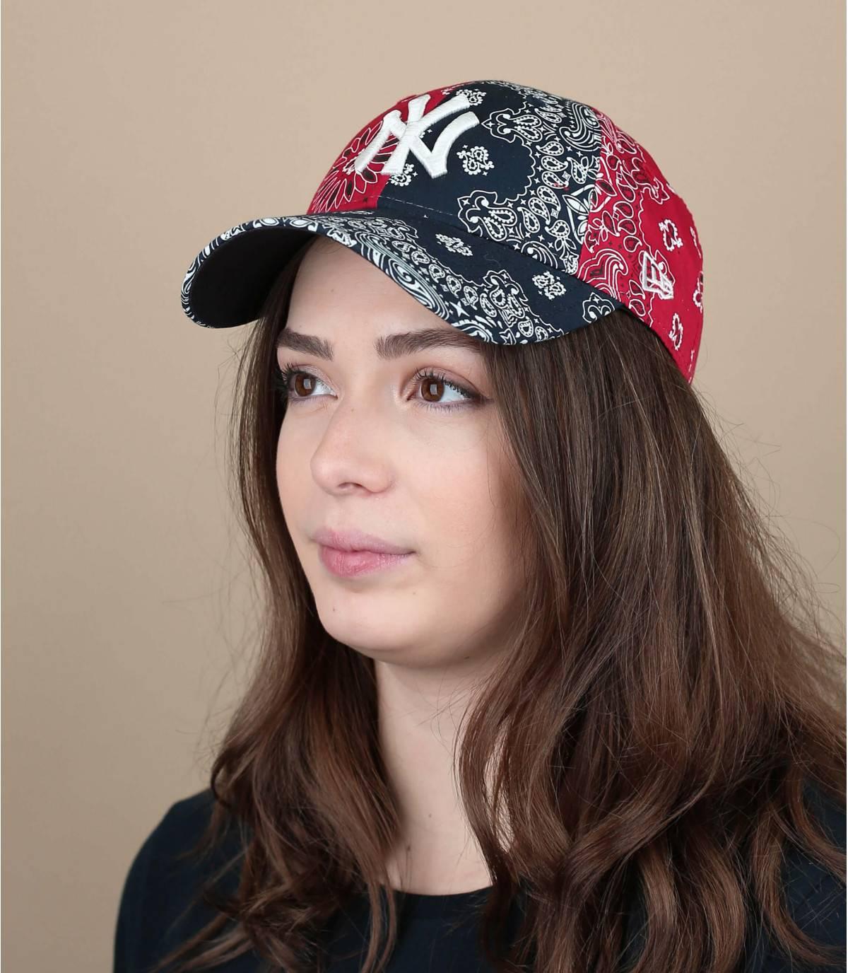 casquette bandana femme