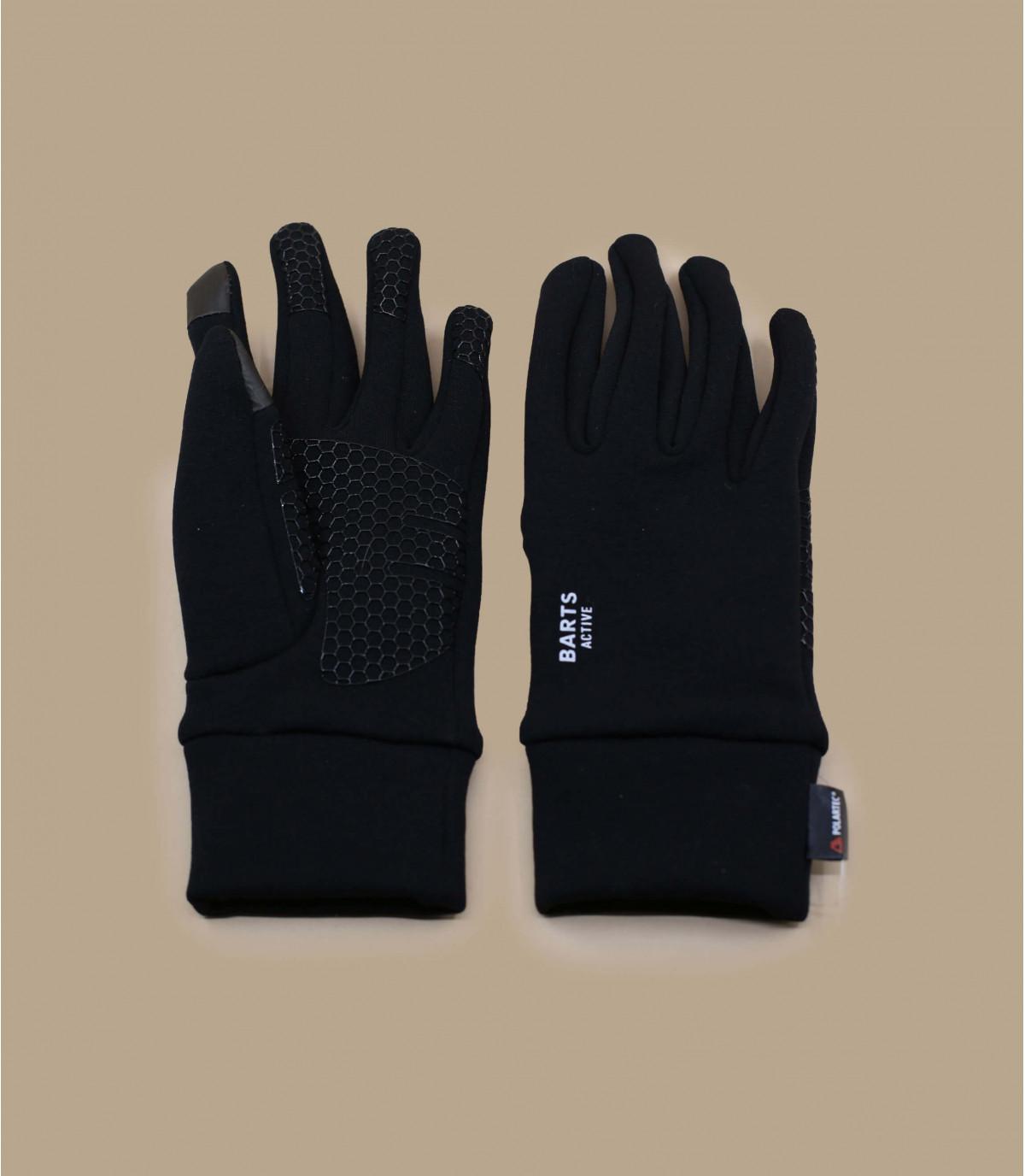 Détails Powerstretch touch gloves black - image 2