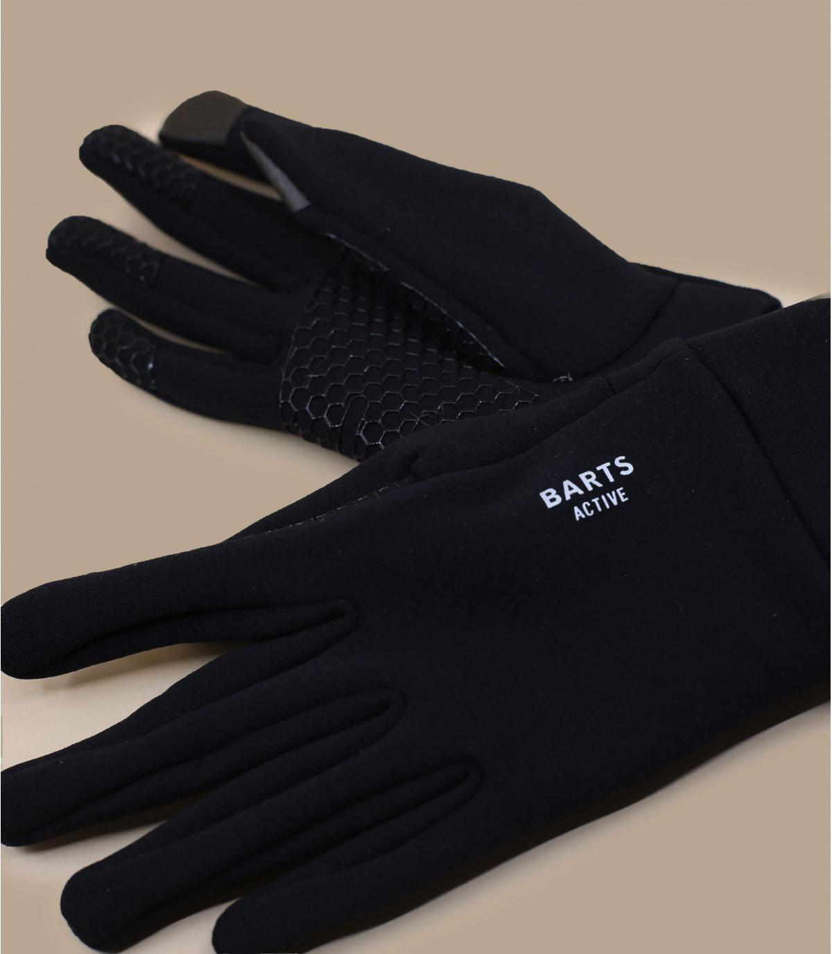 Détails Powerstretch touch gloves black - image 3