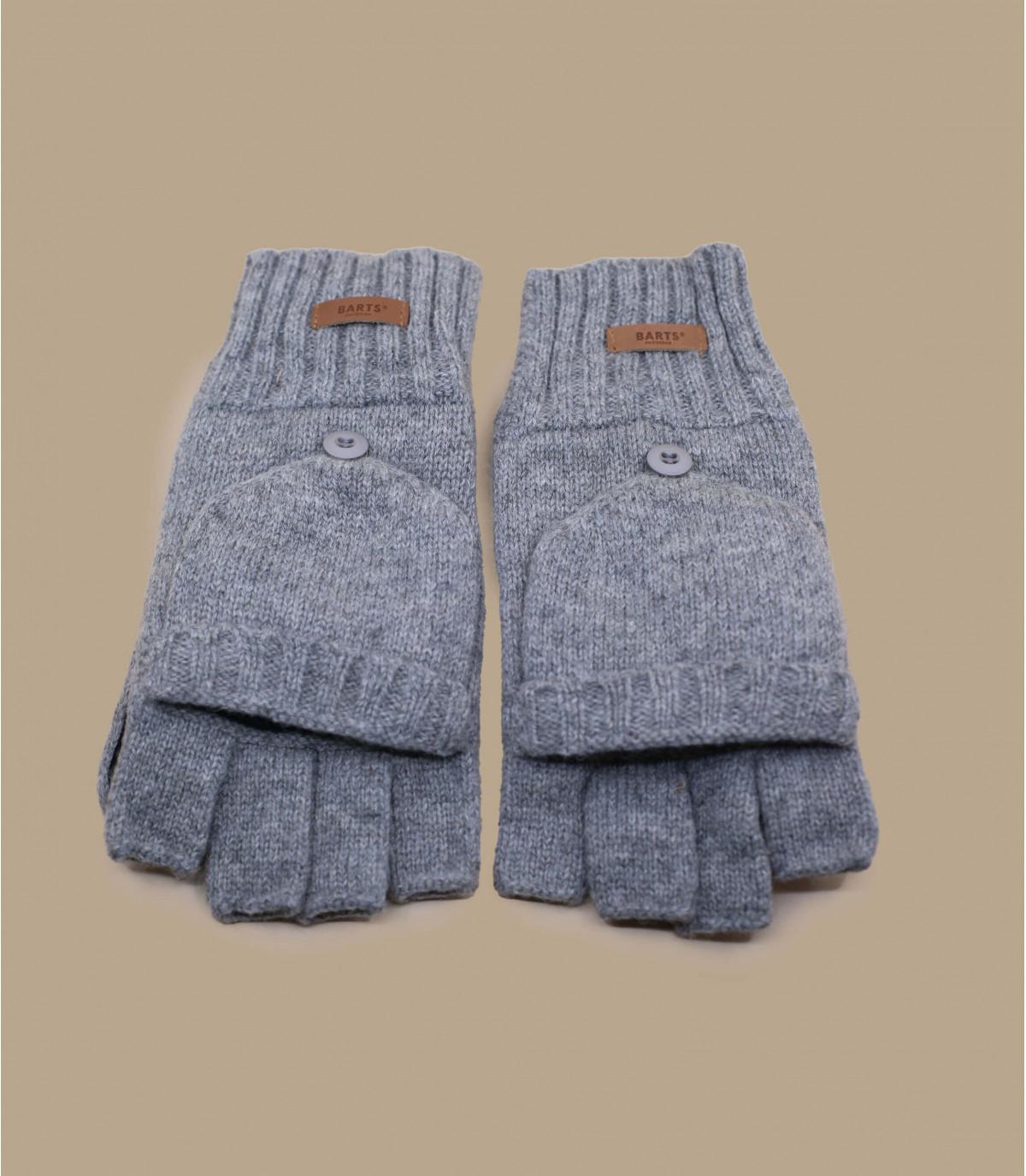 Haakon Bumglove heather grey