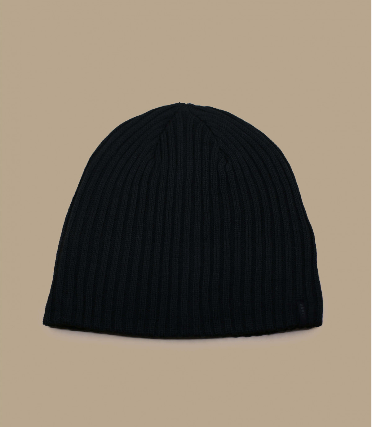 bonnet simple noir