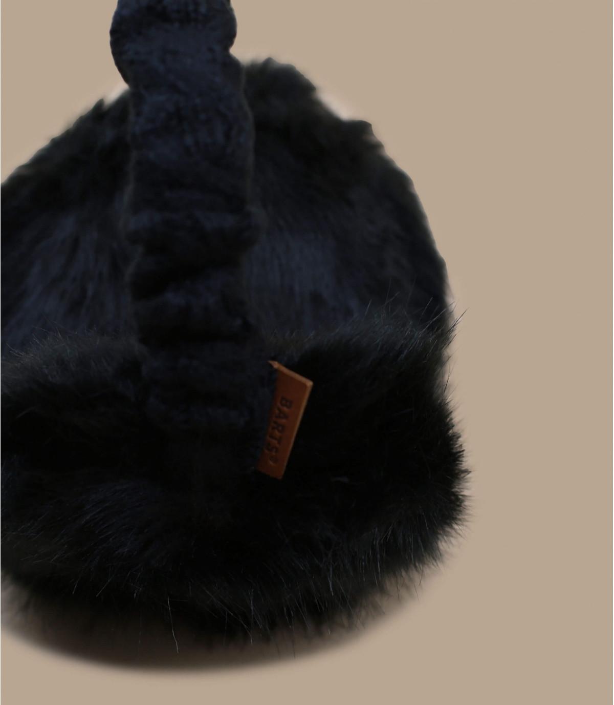 Détails Fur Earmuffs black - image 3
