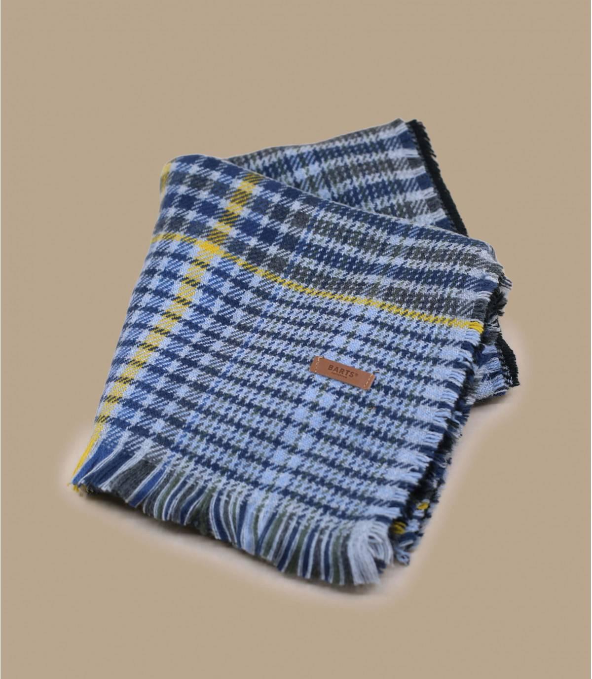 écharpe gris bicolore