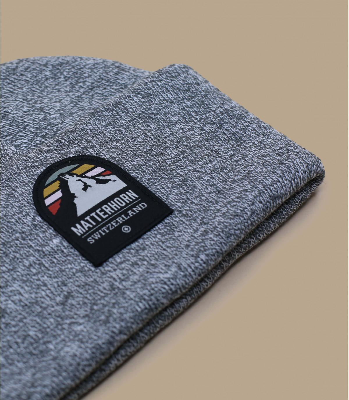 Détails Bonnet Matterhorn grey - image 3