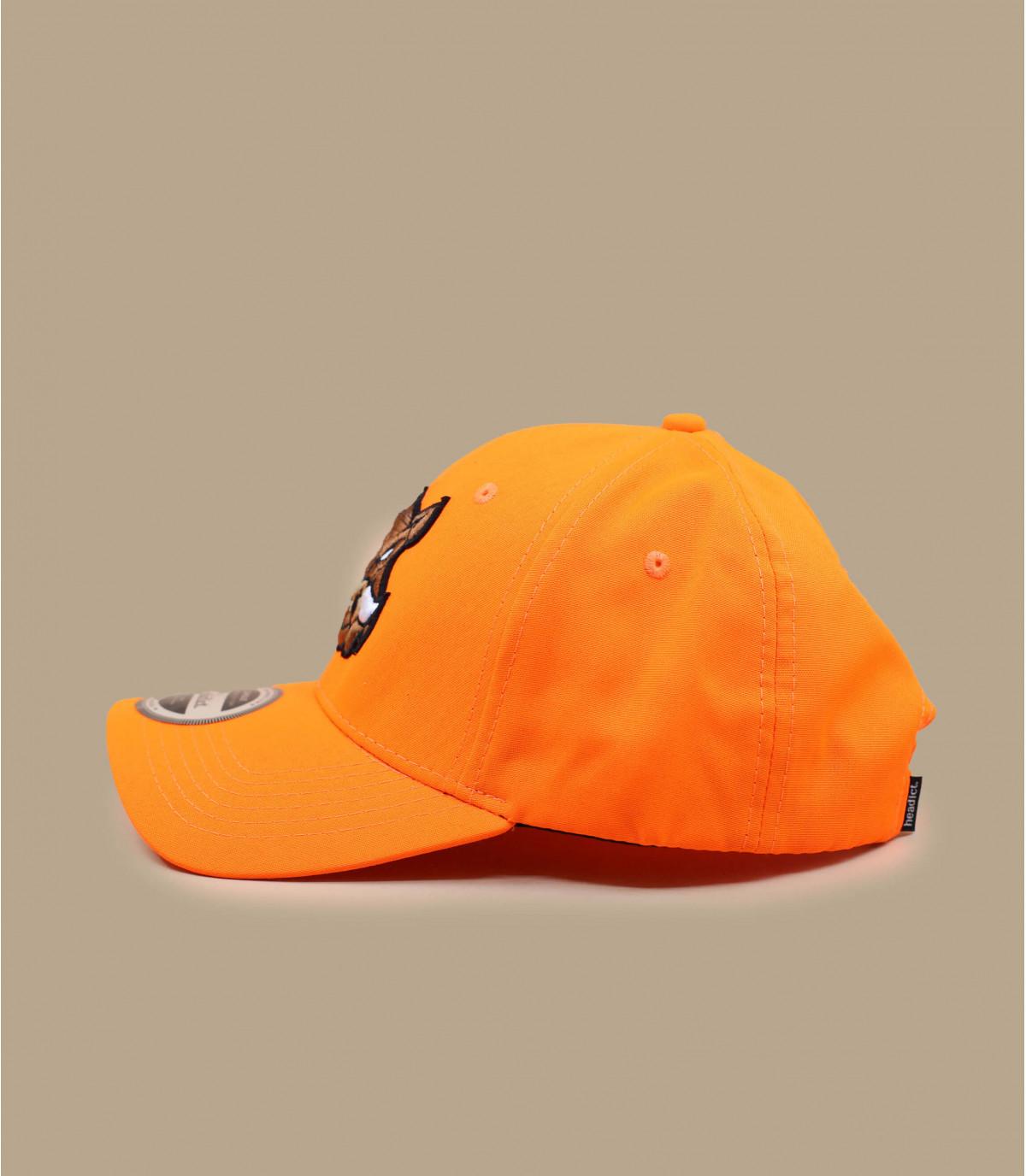 Détails Casquette Sanglier orange - image 2