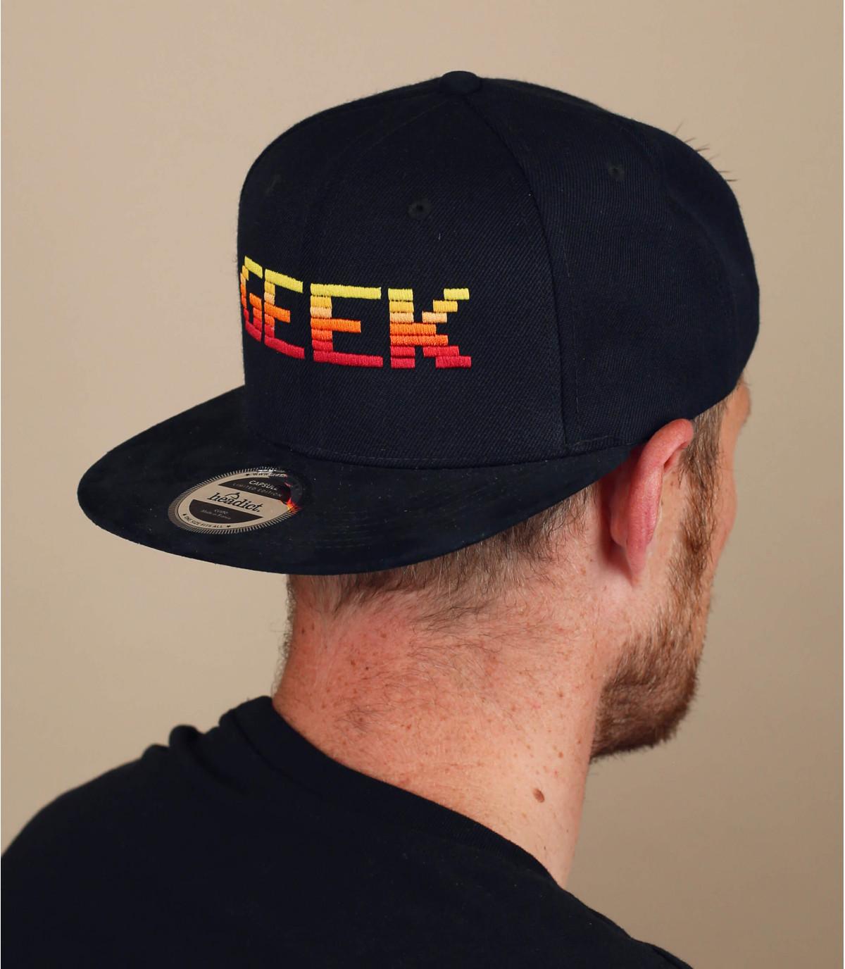 snapback Geek noir