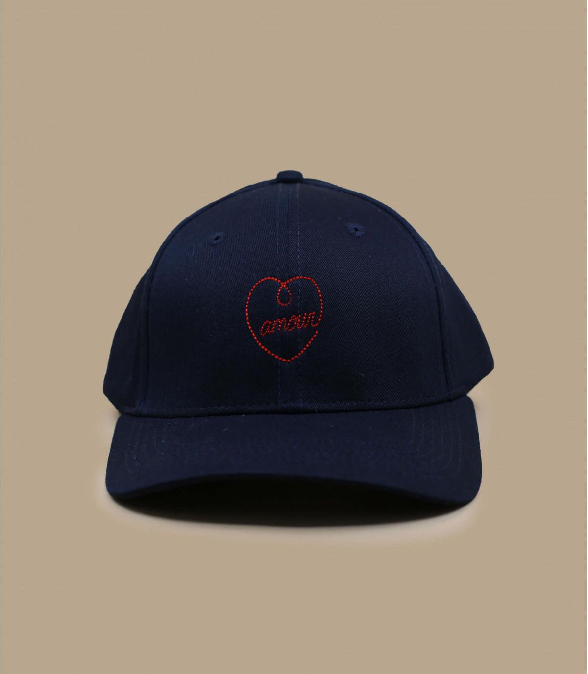 casquette amour bleu