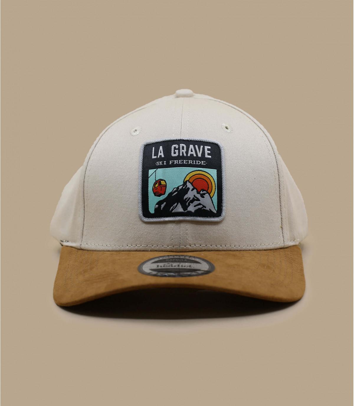 casquette La Grave beige
