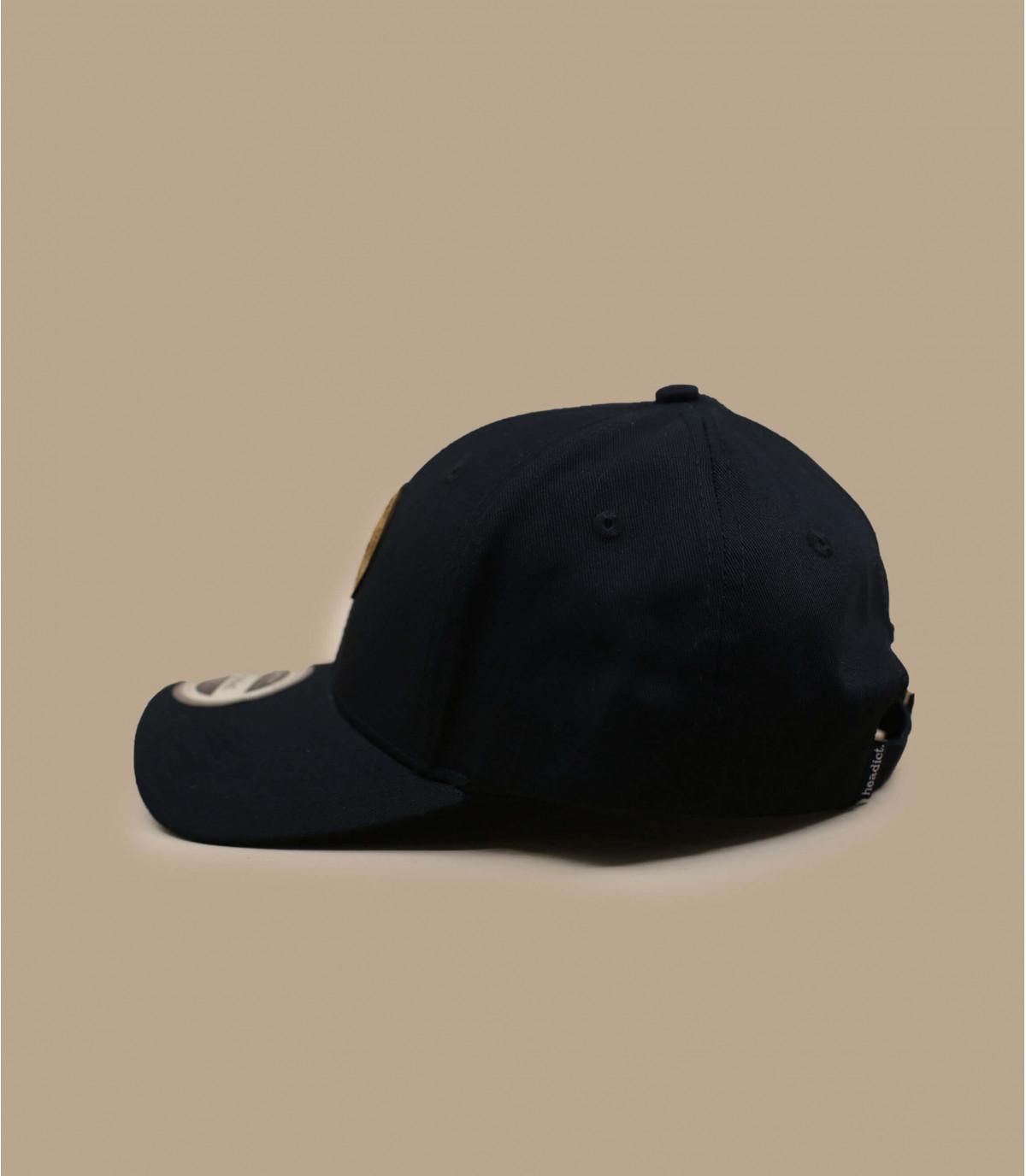 casquette curve Sunset noire