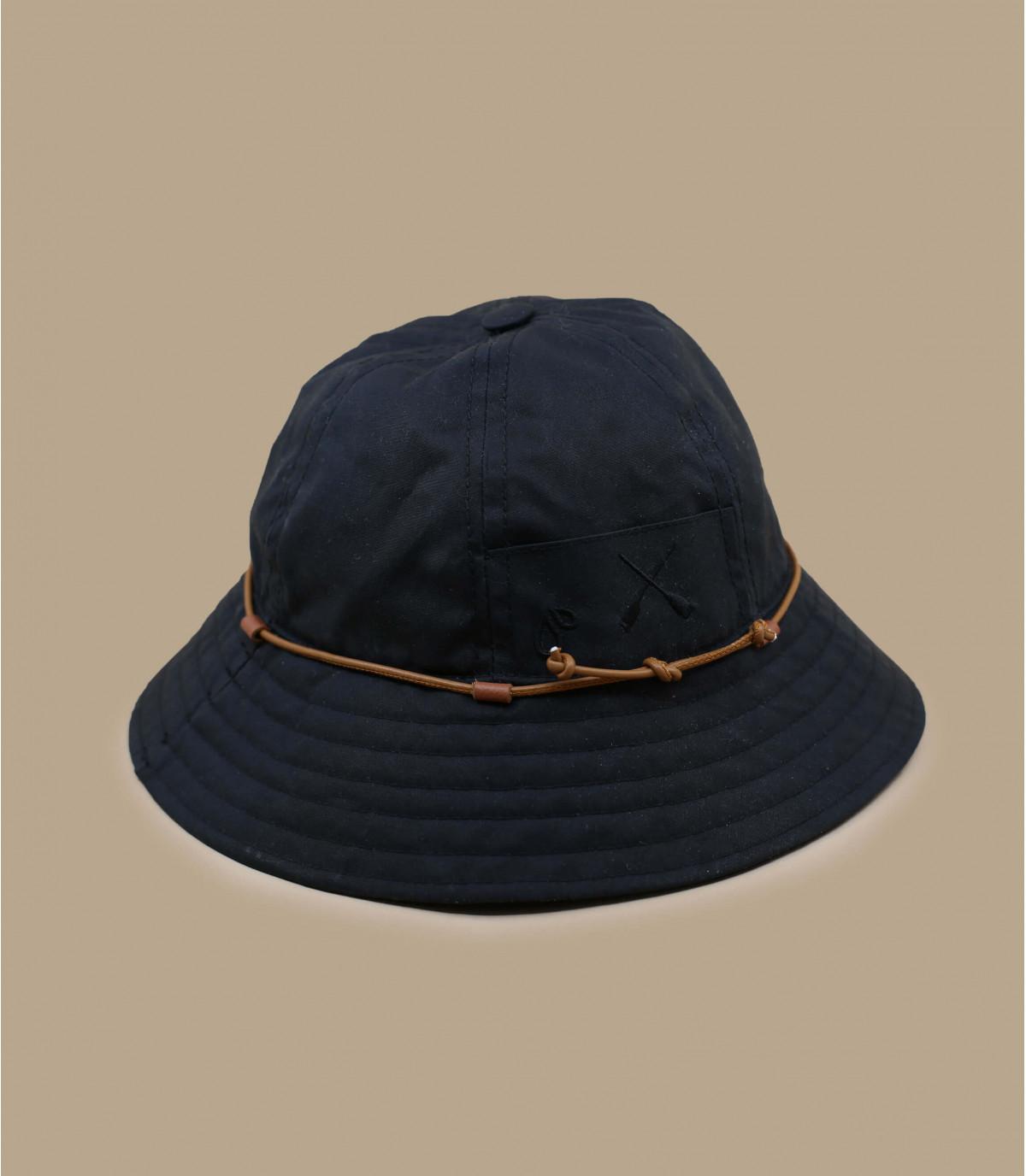 chapeau pluie Béton Ciré