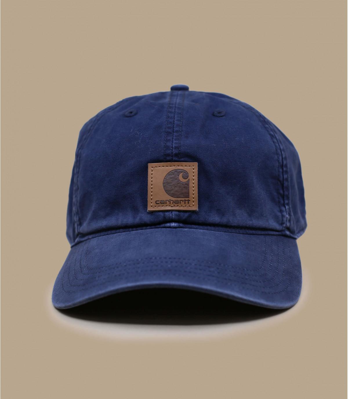 cap curve Carhartt bleue patch
