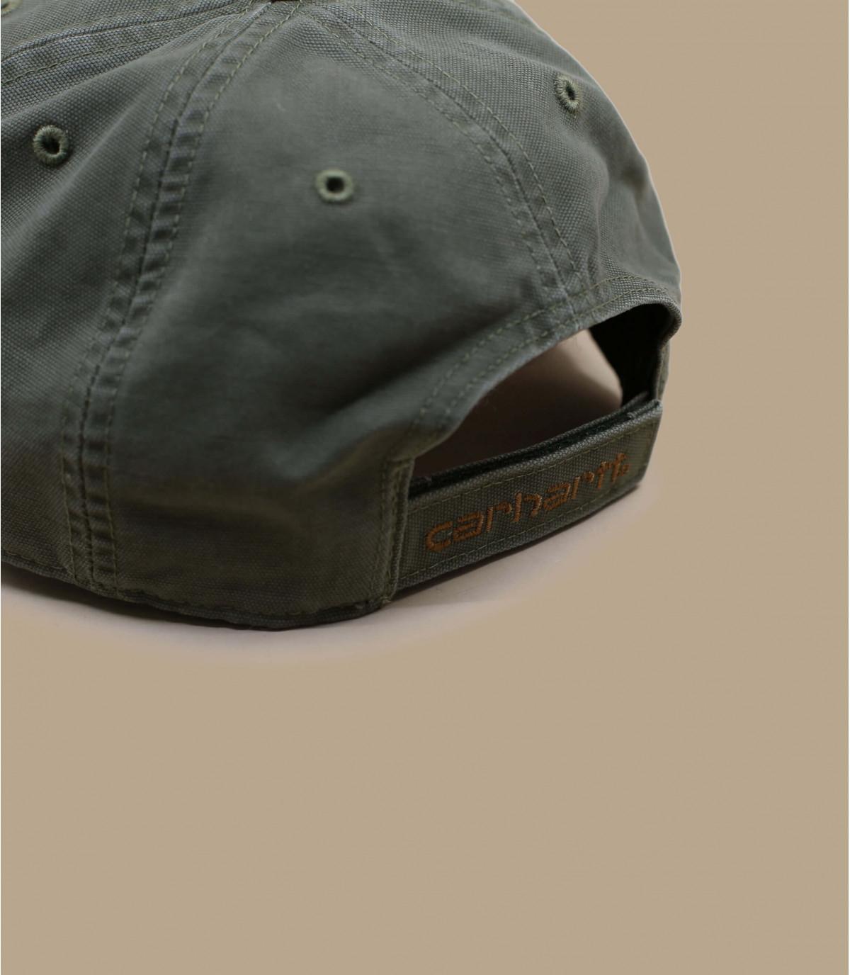 Détails Casquette Carhartt odessa army green - image 4