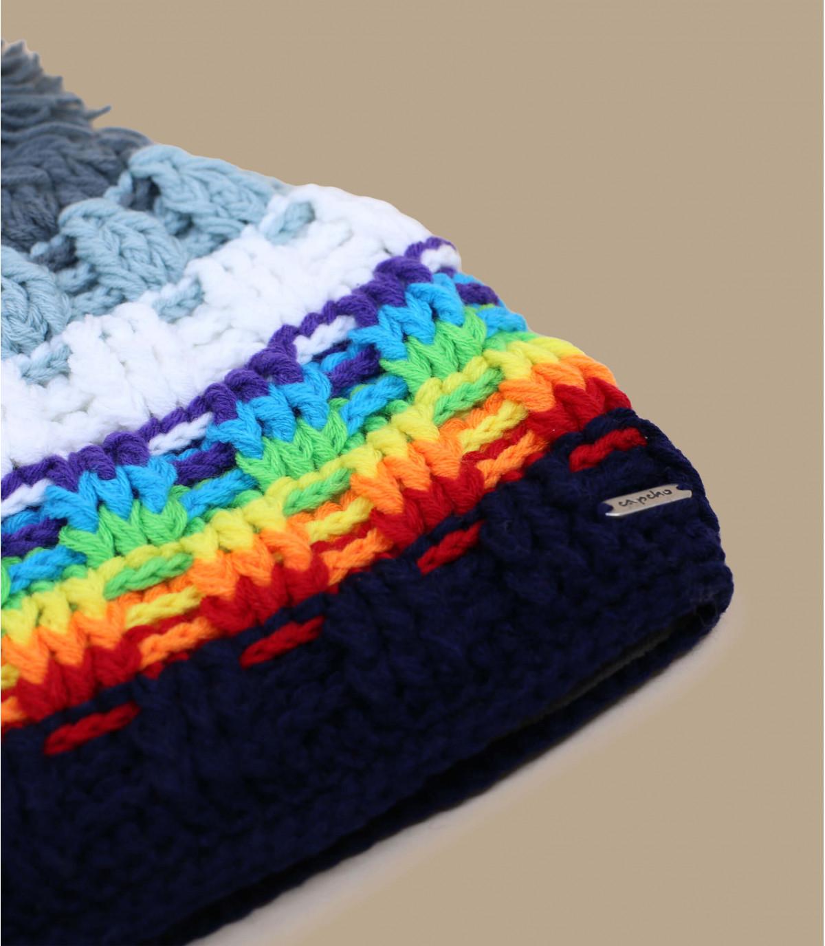 bonnet homme pompon snow bonnet platine snow par capcho. Black Bedroom Furniture Sets. Home Design Ideas