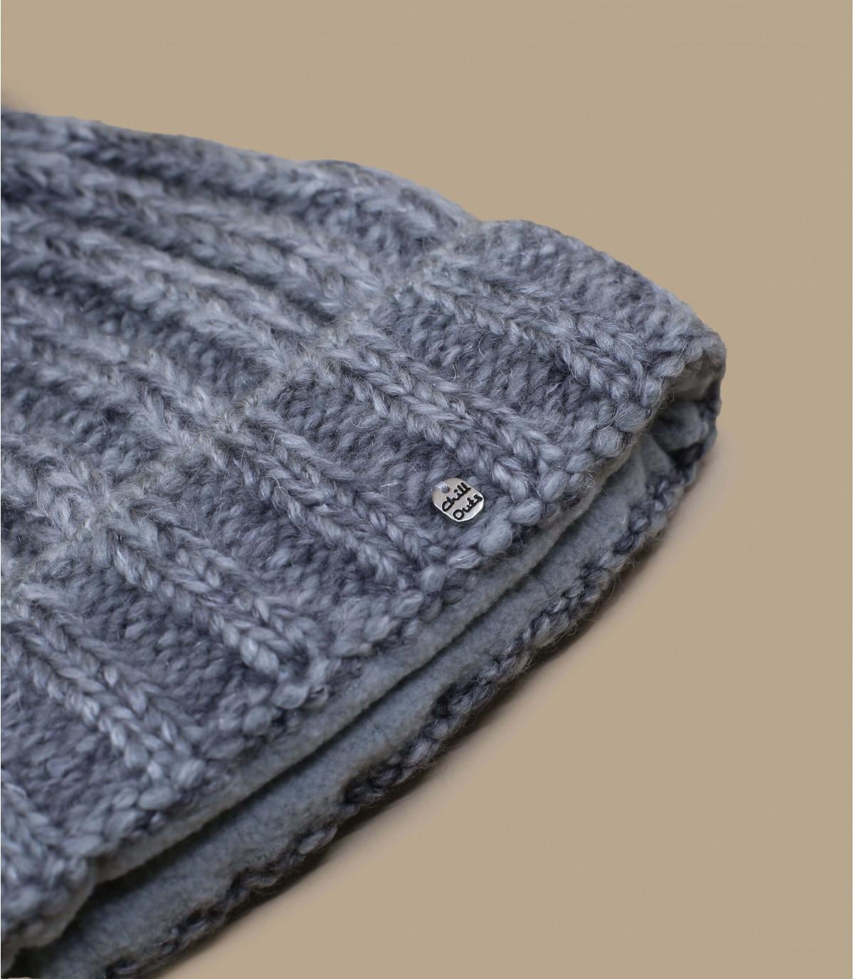 Détails Indra Hat grey melange - image 2