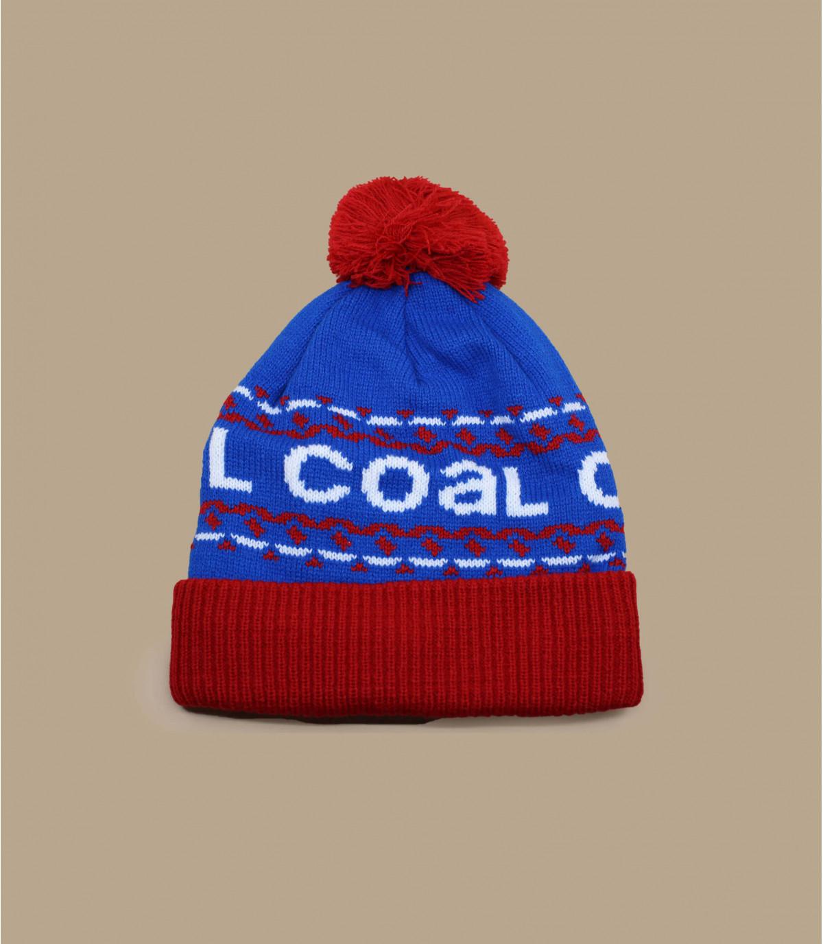Bonnet vintage coal. Détails The Kelso blue , image 1