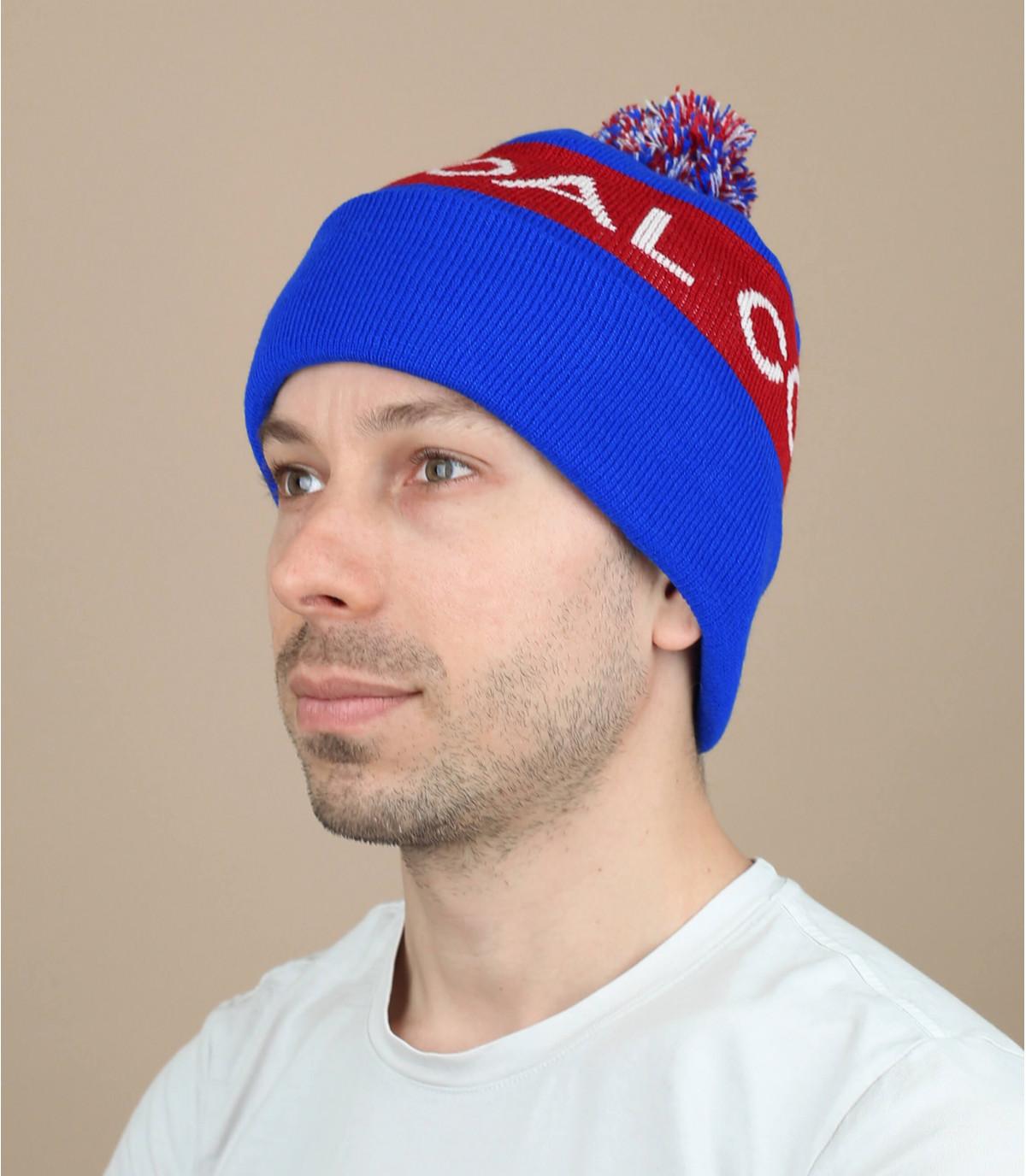 Bonnet The team blue