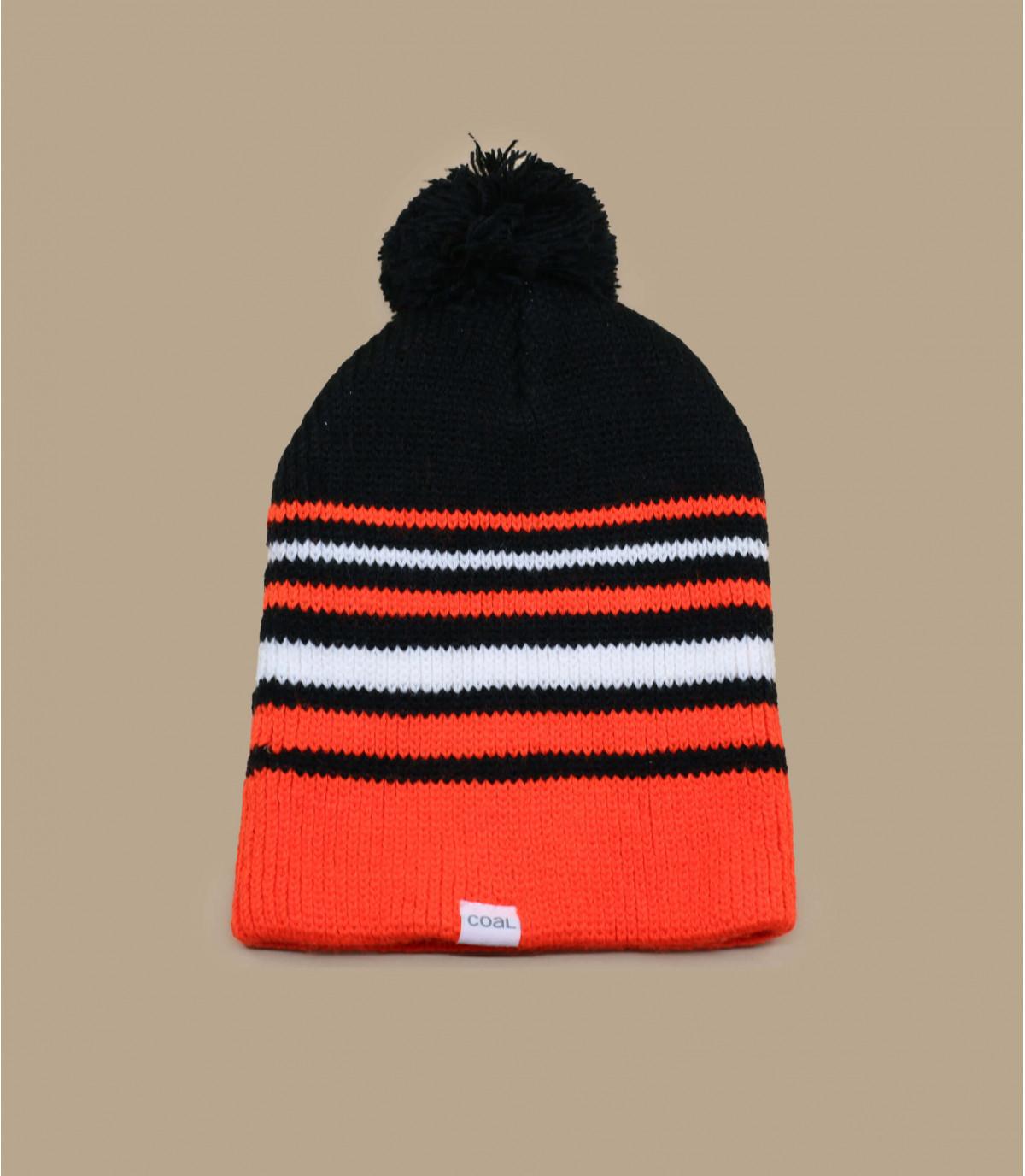 Bonnet orange fluo