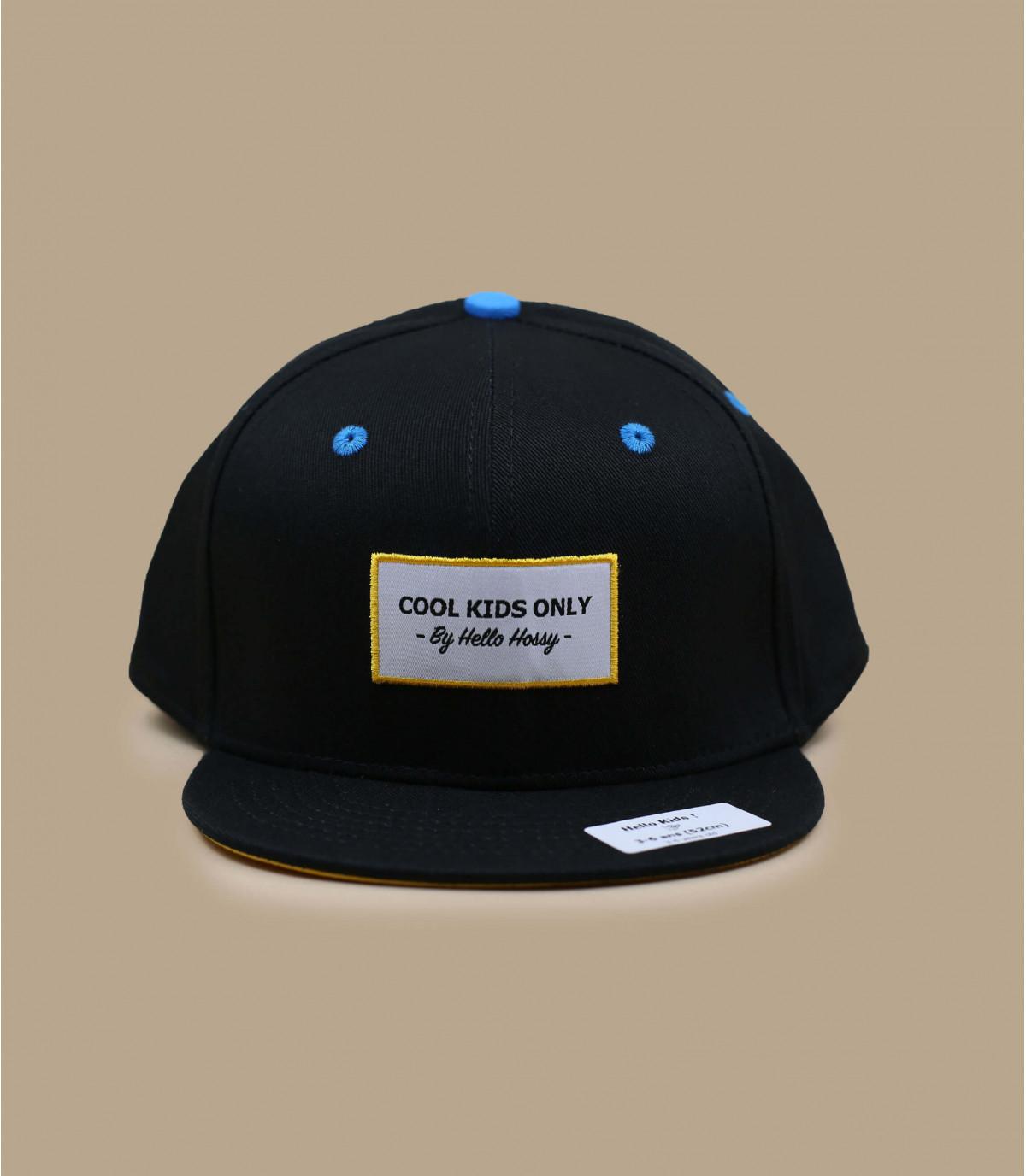 casquette enfant noir Hossy
