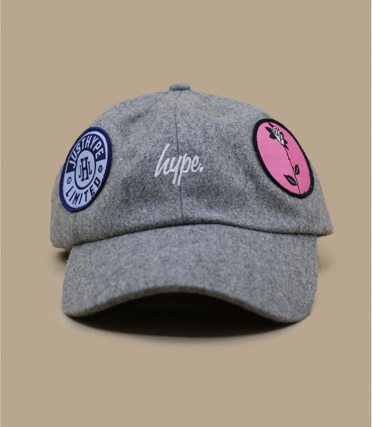 cap curve patchs Hype