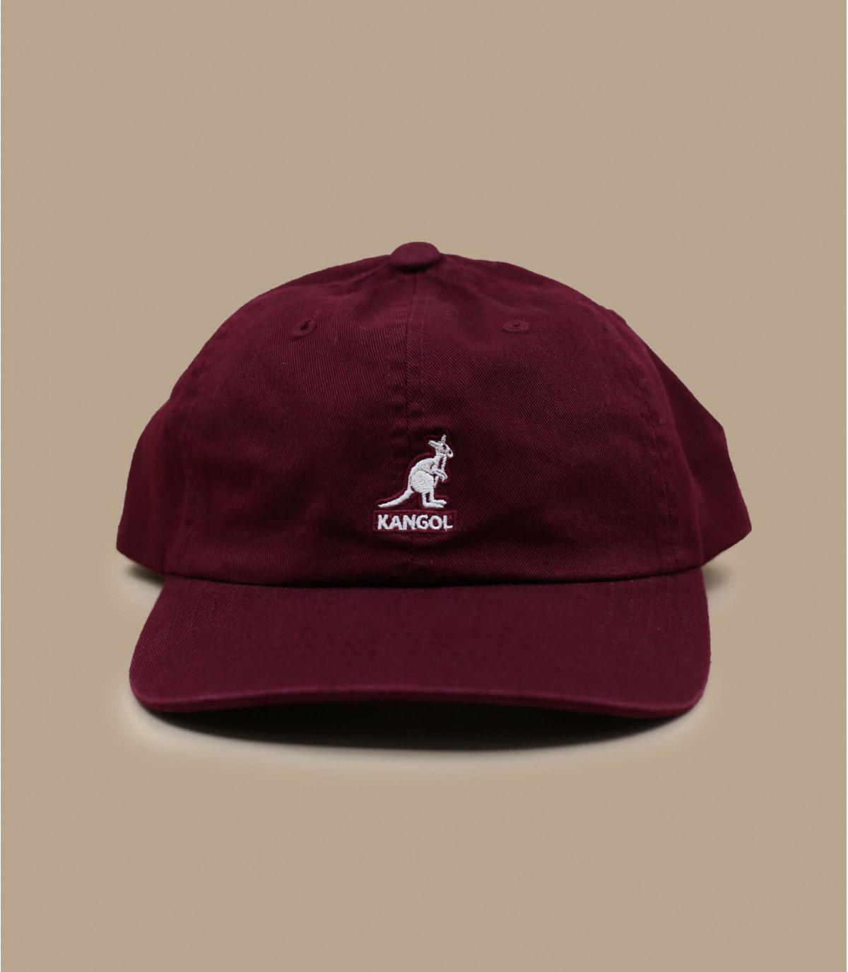 casquette Kangol bordeaux