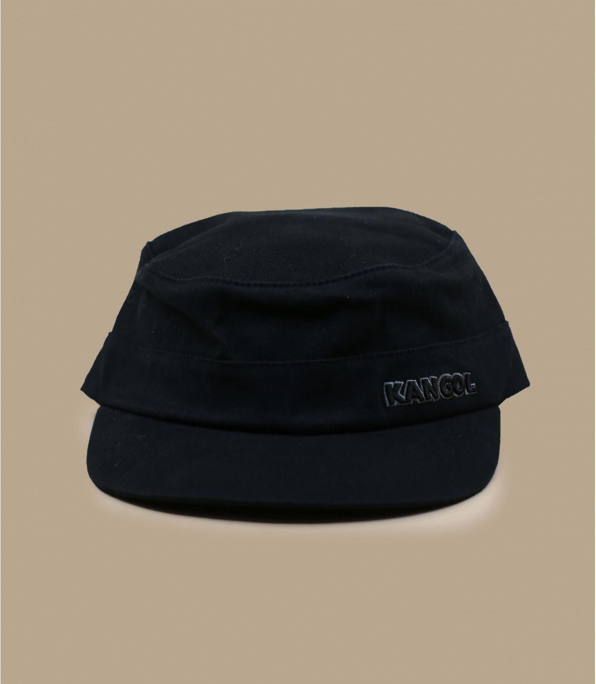 casquette army noir Kangol