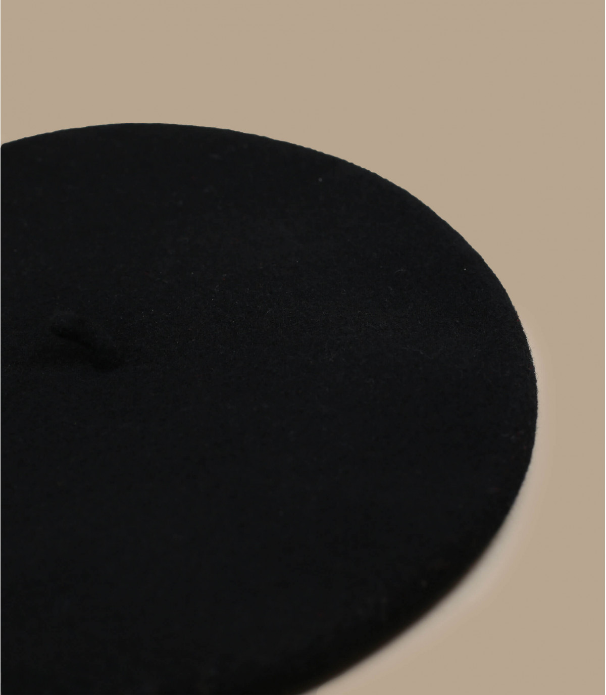 Détails Beret classique noir wm - image 2