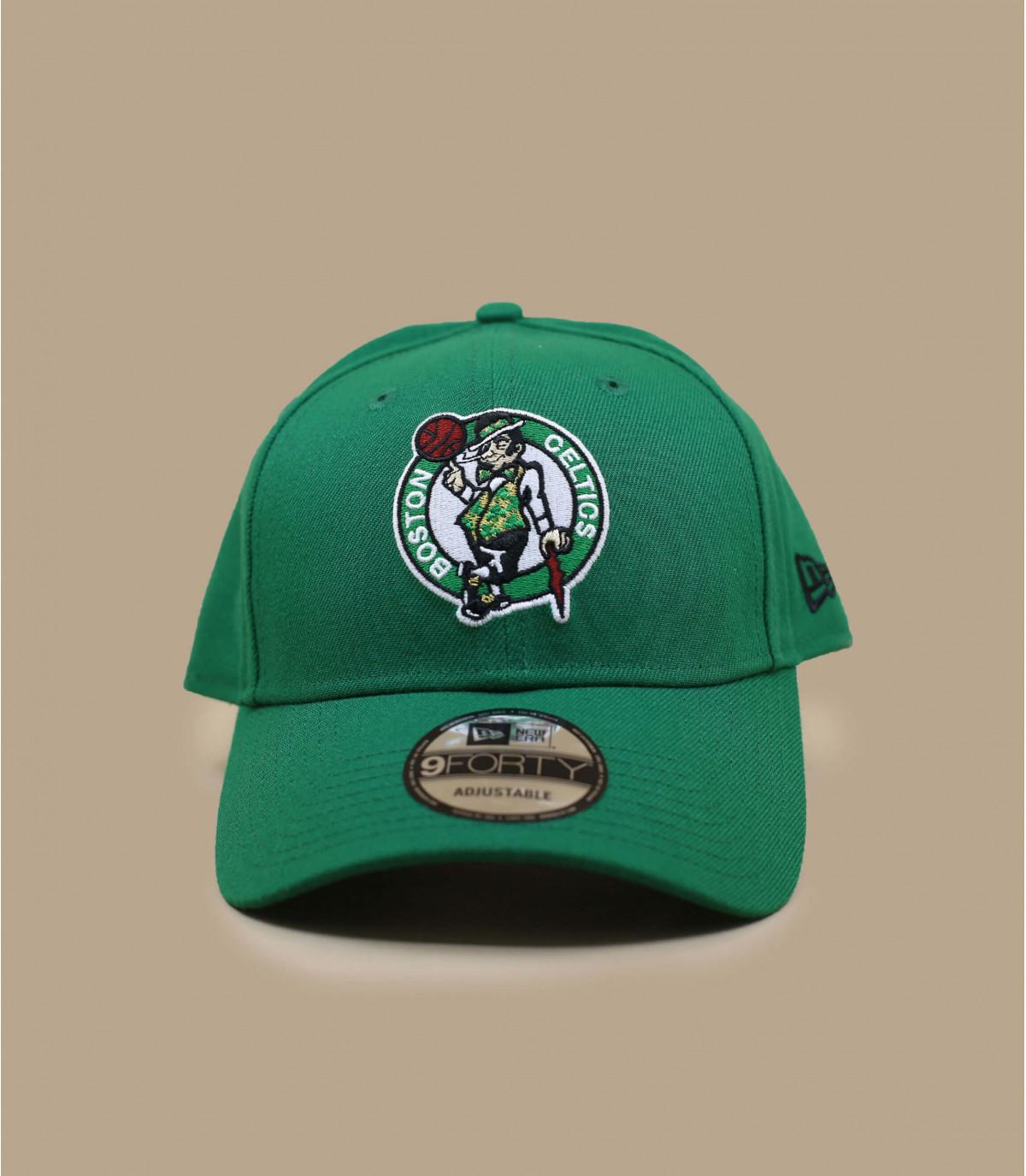casquette curve Celtics vert