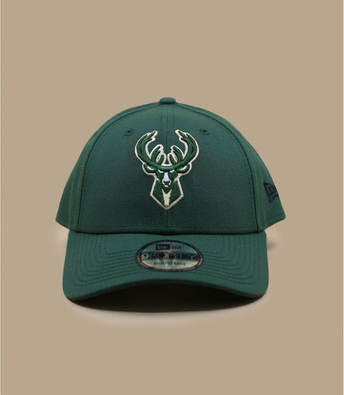 casquette curve Bucks vert