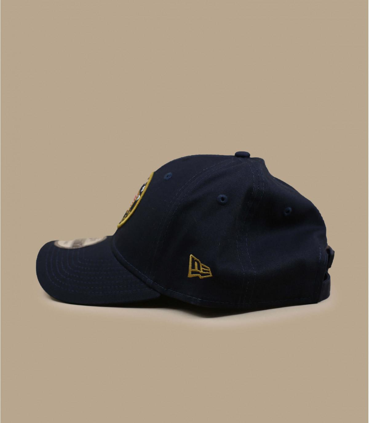 casquette drapeau US bleu