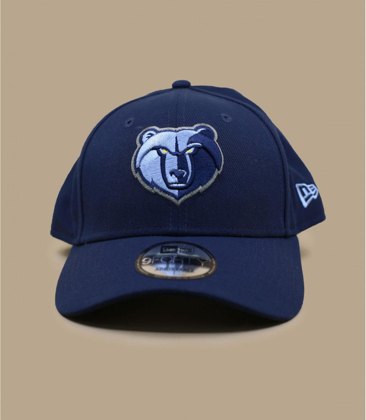 casquette Grizzlies bleu marine