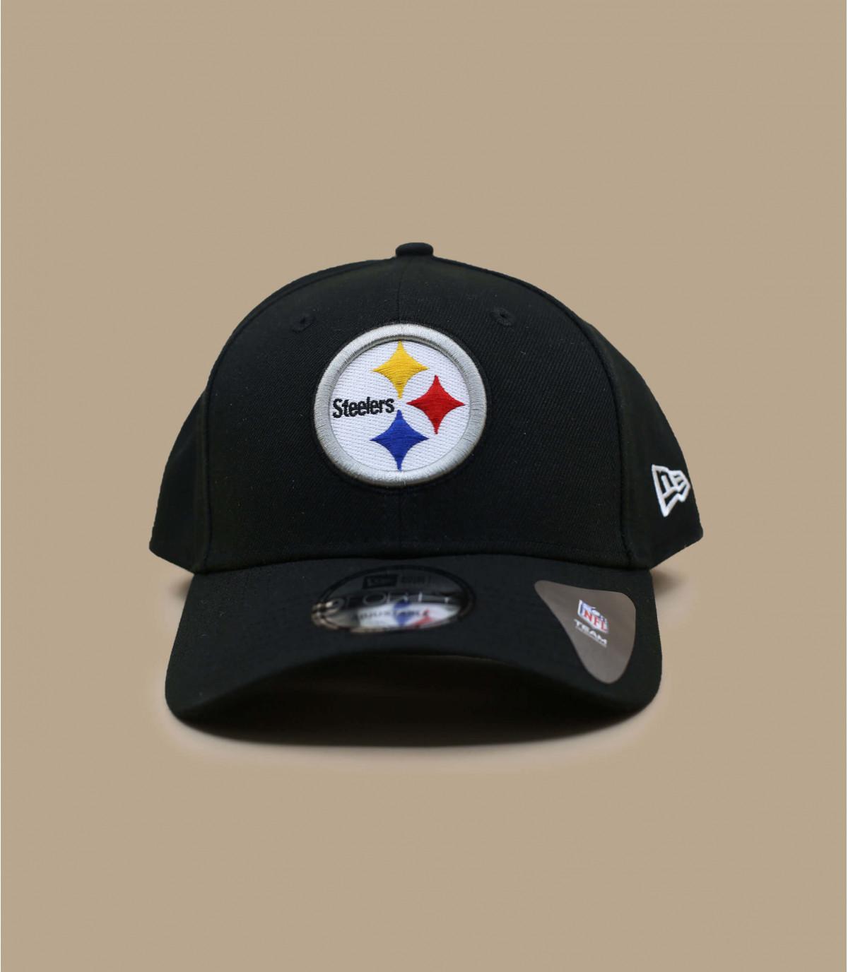 cap curve Steelers noire