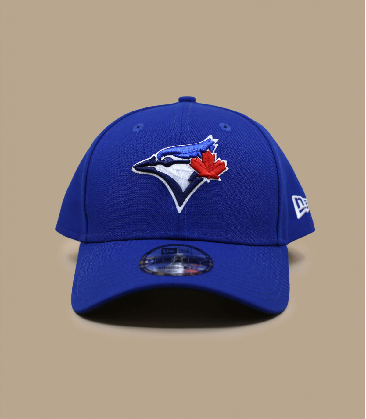 casquette curve Toronto bleue